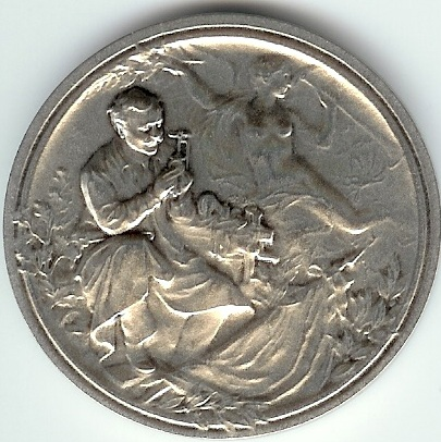 Parasolauto Médaille face